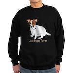 Jack Russell Terrier Painting Sweatshirt (dark)
