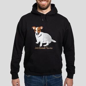 Jack Russell Terrier Painting Hoodie (dark)