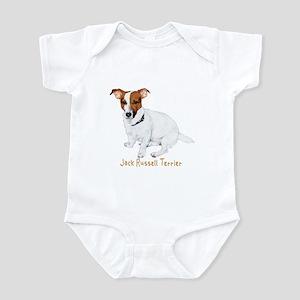 Jack Russell Terrier Painting Infant Bodysuit