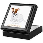 Jack Russell Terrier Painting Keepsake Box