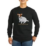 Parson Russell Painting Long Sleeve Dark T-Shirt