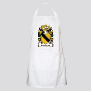Sandoval Coat of Arms BBQ Apron