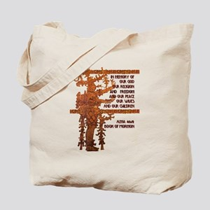The Title of Liberty story fr Tote Bag