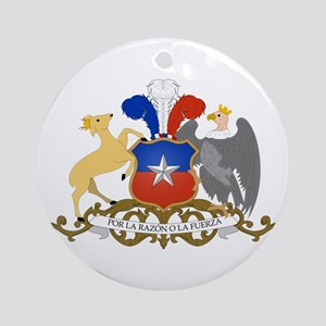 Chile Coat of Arms Ornament (Round)
