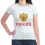 Russian coat of arms Jr. Ringer T-Shirt