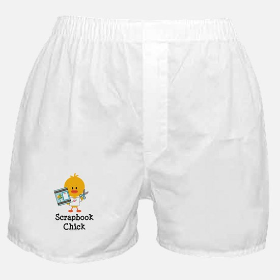 Scrapbook Chick Boxer Shorts