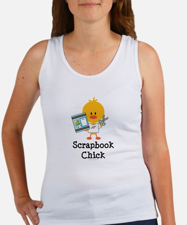 Scrapbook Chick Women's Tank Top