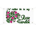 In My Rose Garden Banner