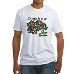 In My Rose Garden Fitted T-Shirt