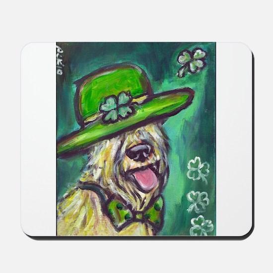 wheaten terrier St Paddy's da Mousepad