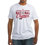 2010 National Champs Fitted T-Shirt
