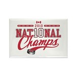 2010 National Champs Rectangle Magnet (10 pack)