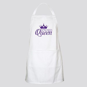 Honored Queen Apron