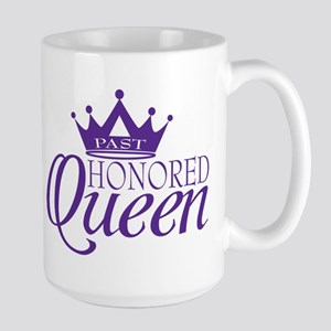 Past Honored Queen Large Mug