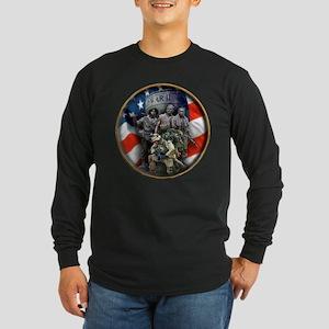 THE VETRANS Long Sleeve Dark T-Shirt