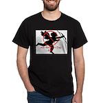 Anti-Cupid Black T-Shirt