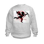 Anti-Cupid Kids Sweatshirt
