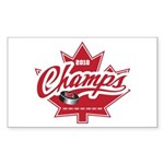 Canada 2010 Sticker (Rectangle 50 pk)