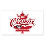 Canada 2010 Sticker (Rectangle 10 pk)