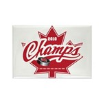 Canada 2010 Rectangle Magnet (100 pack)