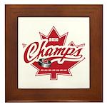 Canada 2010 Framed Tile