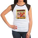 Crawfish Women's Cap Sleeve T-Shirt