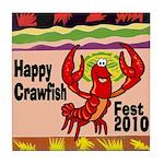 Crawfish Tile Coaster