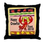 Crawfish Throw Pillow