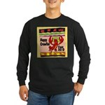 Crawfish Long Sleeve Dark T-Shirt