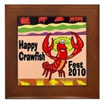 Crawfish Framed Tile