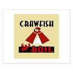 Crawfish Small Poster
