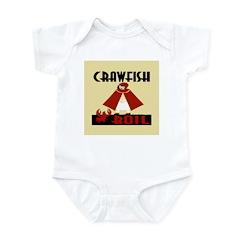 Crawfish Infant Bodysuit