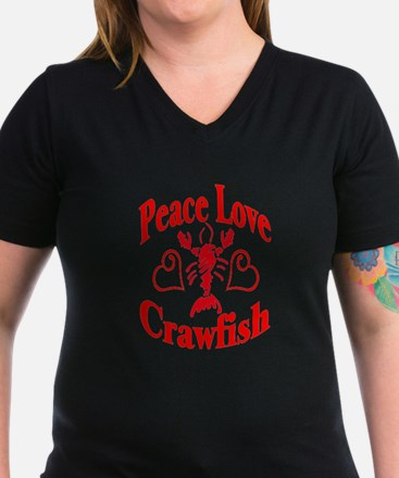 Peace Love Crawfish Shirt