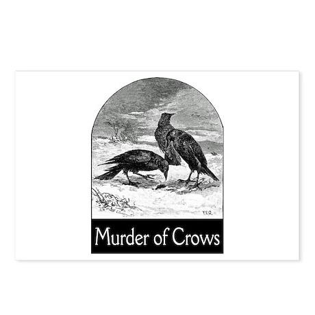 Murder of Crows Postcards (Package of 8)