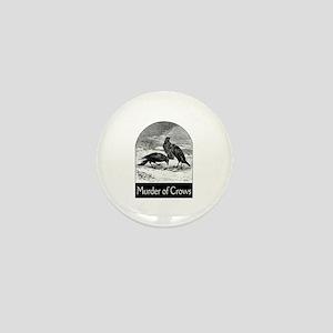 Murder of Crows Mini Button