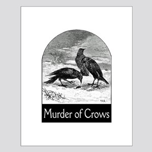 Murder of Crows Small Poster