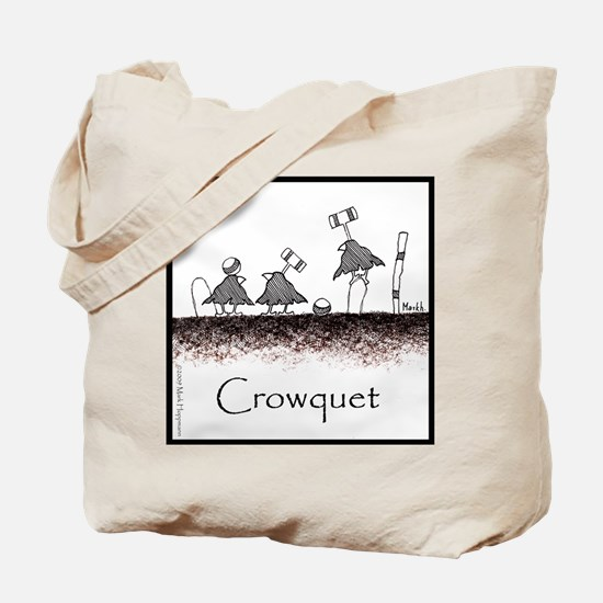 Crowquet Tote Bag