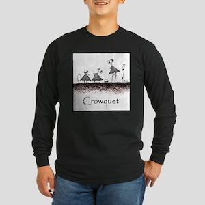 Crowquet Long Sleeve Dark T-Shirt