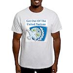 United Nations Ash Grey T-Shirt