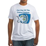 United Nations Fitted T-Shirt