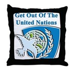 United Nations Throw Pillow