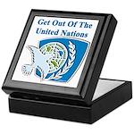 United Nations Keepsake Box