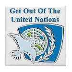 United Nations Tile Coaster