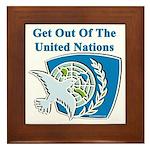 United Nations Framed Tile