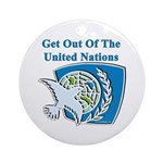 United Nations Ornament (Round)