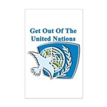 United Nations Mini Poster Print