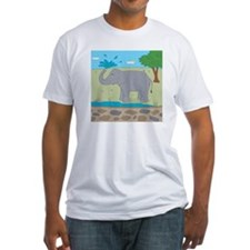 Elephant Fitted T-Shirt
