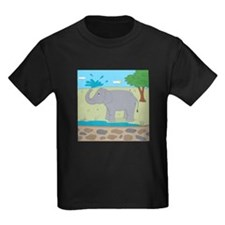 Elephant Kids Dark T-Shirt