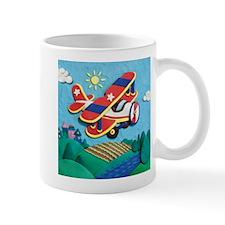 Biplane Aircraft Mug