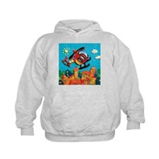 Helicopter Kids Hoodie